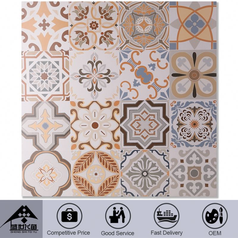 Discount Superior Quality Newest Products 2015 New Design Custom Plaza Ceramic Tile