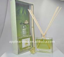 Perfume & fragrance essential oil reed diffuser with glass bottle/home decoration/gift sets