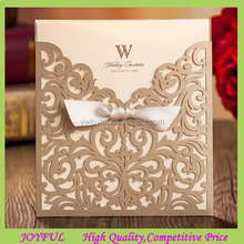 Wholesale Butterfly Laser Cut Wedding Invitation Card
