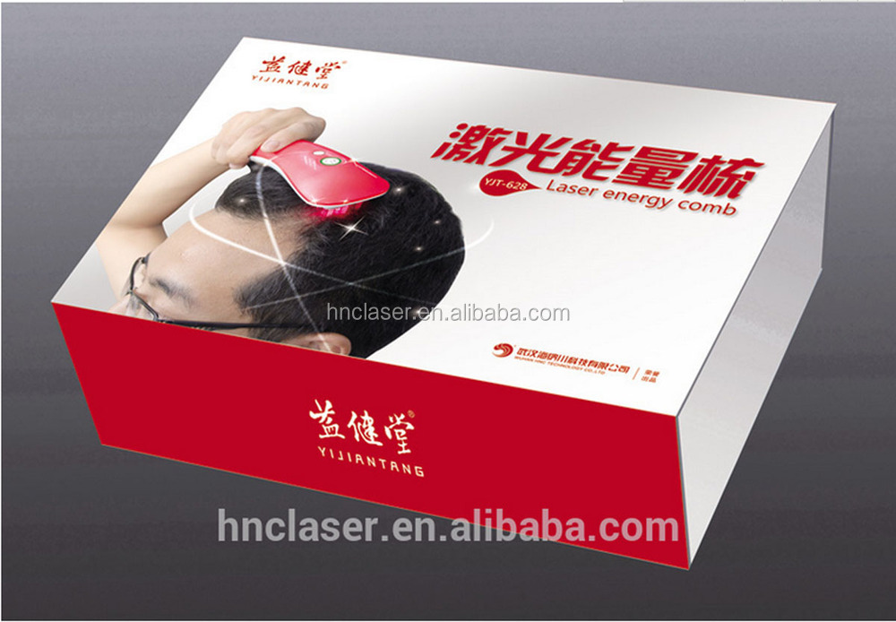 Factory offer hair loss treatment comb with electric massager