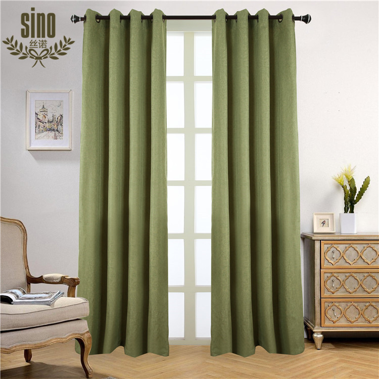 Cheap Hot Sale Top Quality blackout design fabric curtain for door