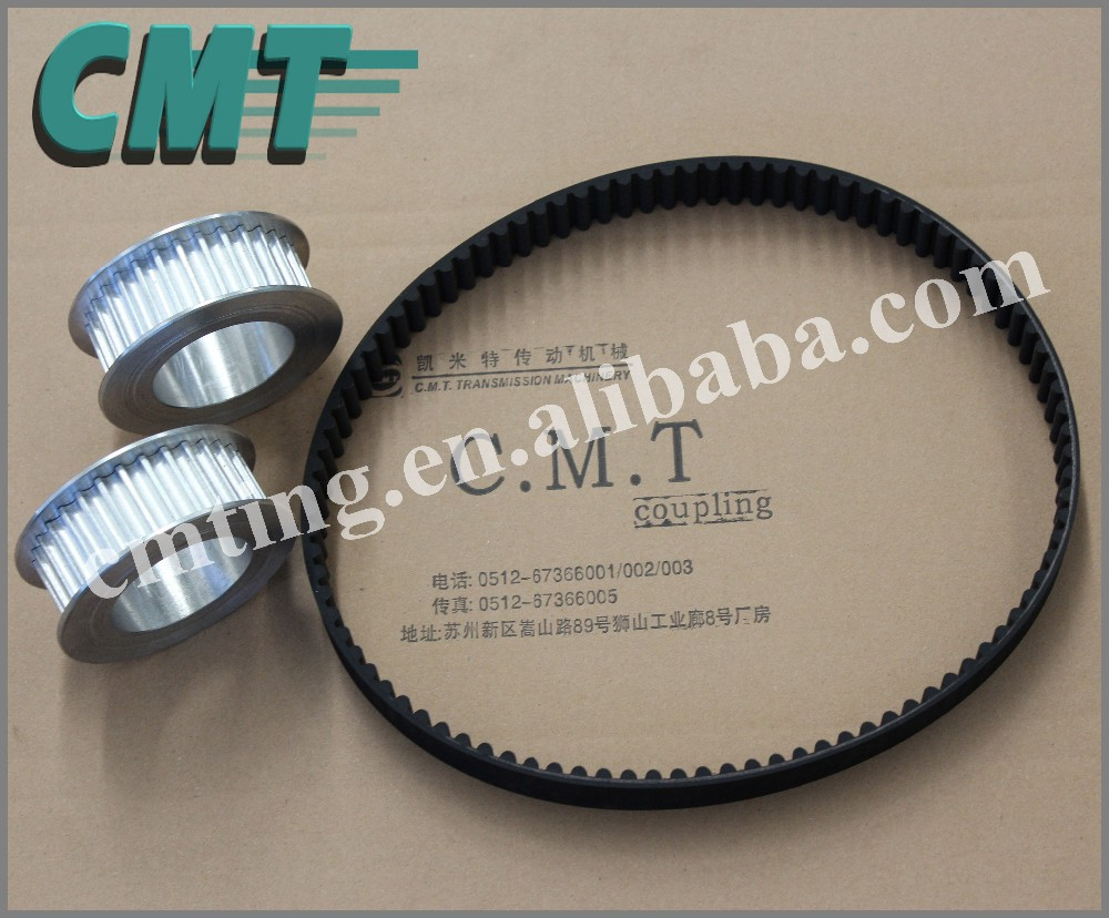 Power Transmission Component Timing Belt Pulley and timing belt