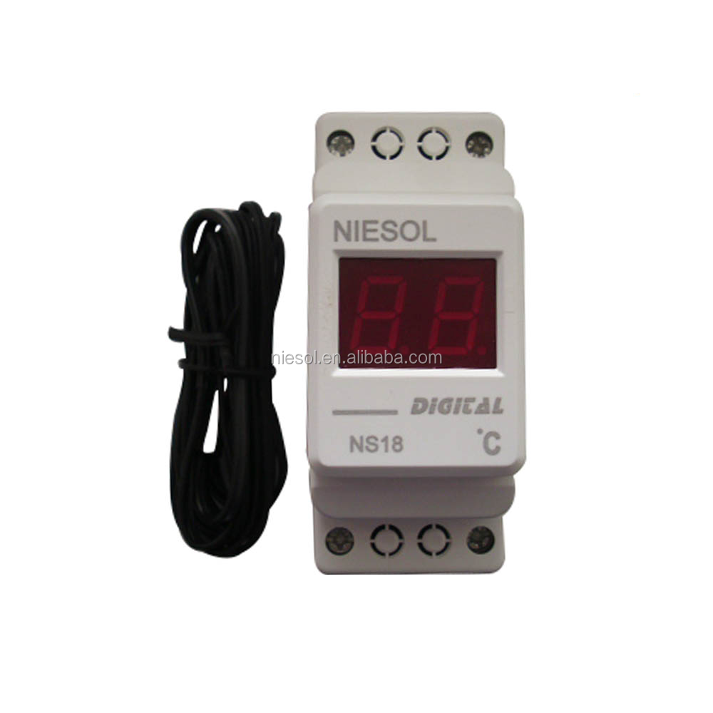 Supply NS18- Centigrade Din-rail digital meter with <strong>temperature</strong>
