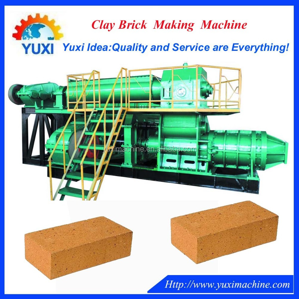 Qualified fully automatic clay brick machine/clay brick making press