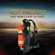 RHZK3 positive pressure air breathing apparatus rescue in metallurgy with carbon fiber cylinder
