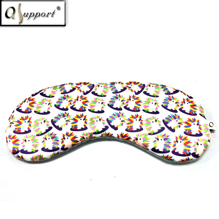 Wholesale China Custom Eye Strain Relief Promoting Blood Circulation Polyester Sex Eye Shade Blindfold Mask for Sleeping
