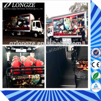 Canton Fair Hot Sale Theme Park Truck Mobile 5D Cinema