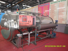 Food processing autoclave machine for canning beans processing plant