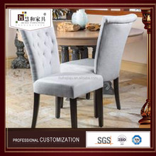 Customized Antique Style Chair Restaurant Wooden Modern