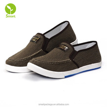24-hour comfort cheap durable canvas shoes for men easy adjustable