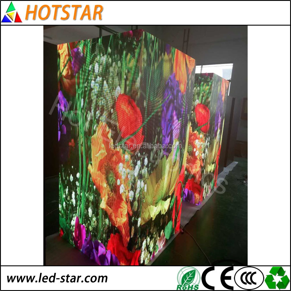 P4 indoor led screen price full Color Led display for rental market
