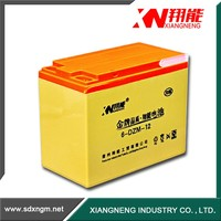 Rechargeable electric ebike battery 12v