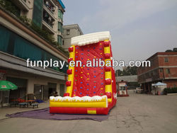 2013 CE hot sale inflatable climb wall