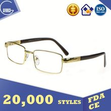 Blue Eyeglasses, ferric oxide, wood frame glasses