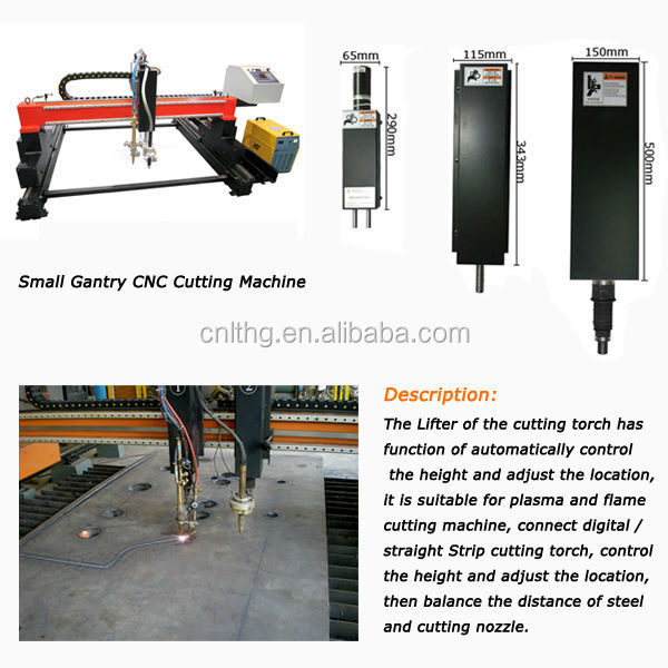 plasma lifting for cnc plasma cutting machine