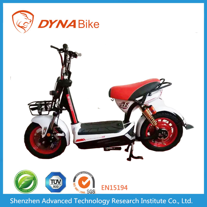 DYNABike Hot Selling 60Km/h Max Speed Battery Operated Electric Automatic Gear Motorcycle