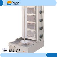 stainless steel chicken shawarma machine for sale