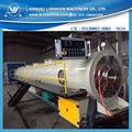 High quality 160-450mm PE water supply pipe extrusion making machine with price