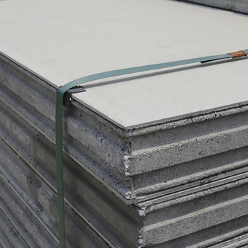 Buildings Insulated Fiber Cement Board EPS Cement Sandwich Panel