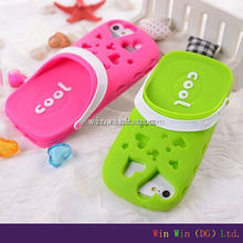 silicone phone case for iphone 5 for the 3D design