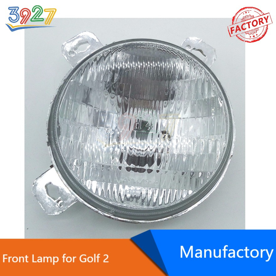 Auto Car Textured Headlight Front Lamp 191941783B 191941784B for VW Golf 2 MK2