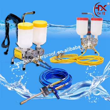 HX-800 10000psi Two Component Grouting Epoxy Injection Pump for Waterproofing