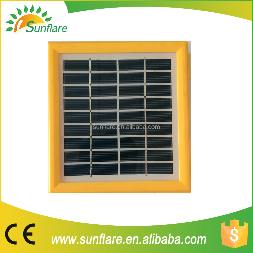 low price 1.7w-18 cells small solar panel