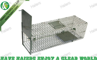 Cage trap for live animal in wild
