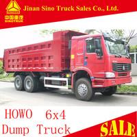 SINOTRUK HOWO 336 horsepower 25 tons 10 wheel standard dump truck dimensions