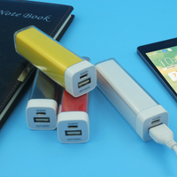 portable 2200mha usb charger phone charger external battery charger power stick