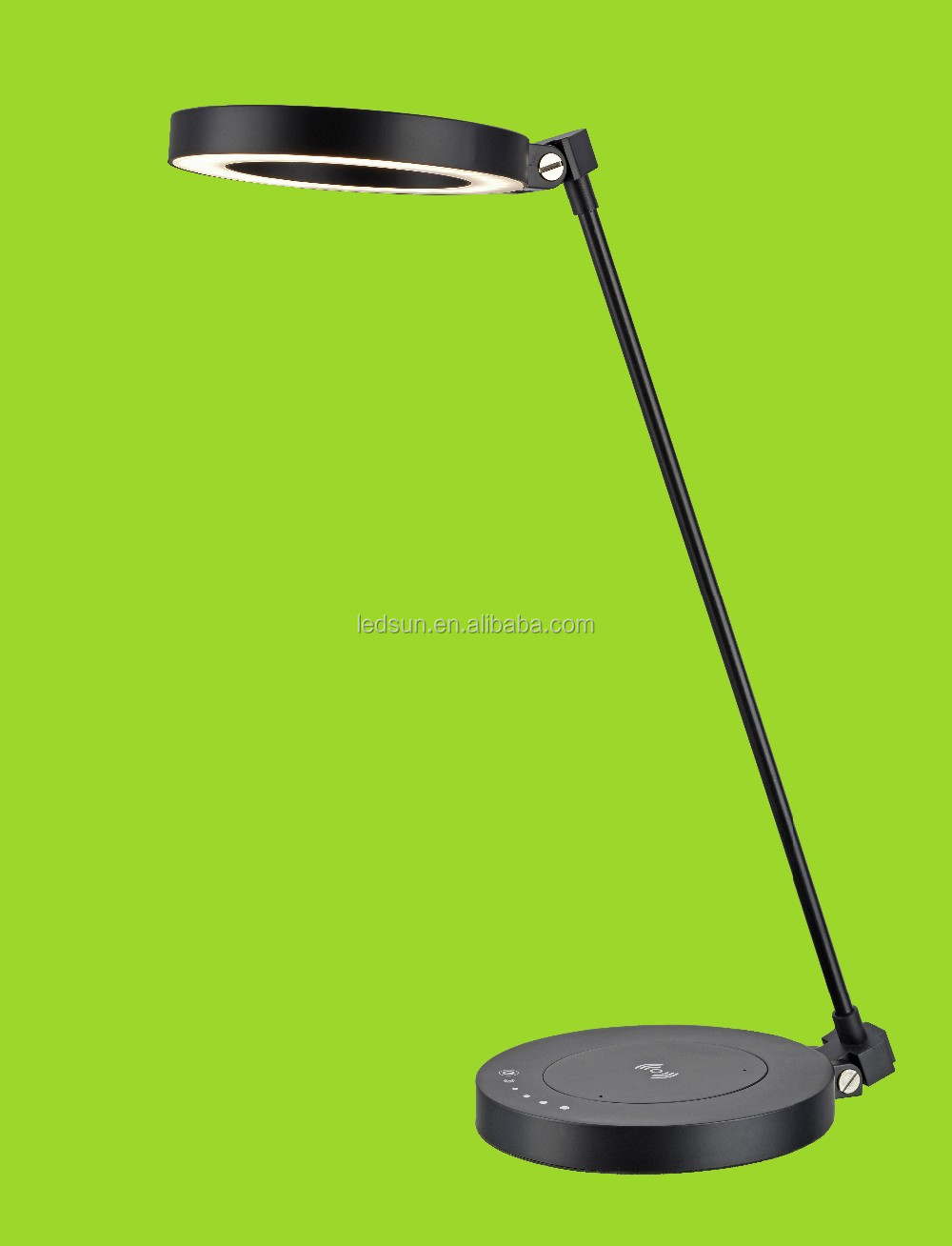 High power 3-level dimmable foldable reading table lamp led /ABS led desk lamp housing