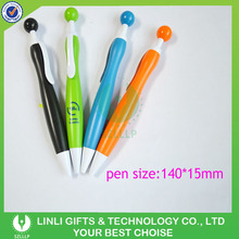 Super Cute Retractable Bowling Style Mini Ballpoint Pens, Colorful Pen Shell