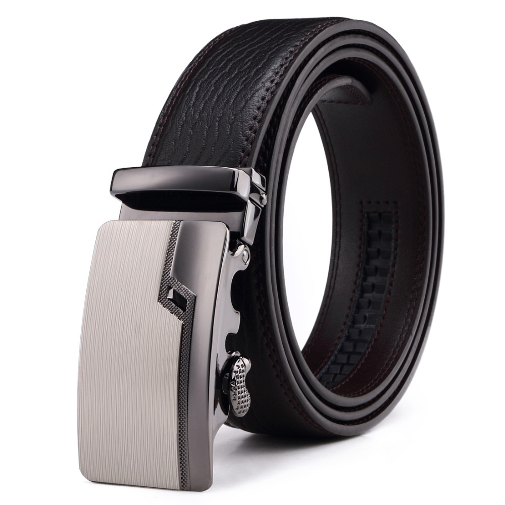 Fashion New Design Automatic Adjustable Leather Mens Belts