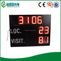 Low cost LED volleyball scoreboard display