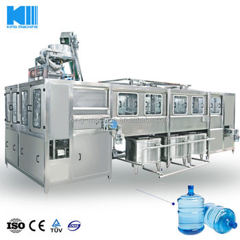 2018 New design 900BPH full automatic 5 gallon mineral water bottle filling machine