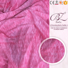 Modern mattress spring lining knit 100 polyester fabric different types dress materials