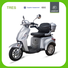 UGBEST long range lithium battery 1000w eec 3 wheel electric scooter