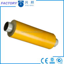 polyurethanre foam filled thermal insulated steel pipe in plastic tubes for high temperature insulation