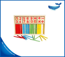 New arrival! Early learning children gift counting math numbers wooden mathematics toys
