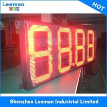 for station wireless lcd gas price sign led text display
