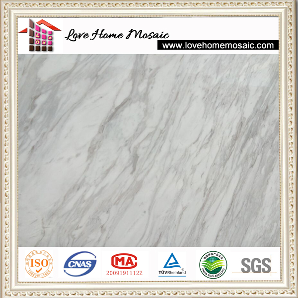 Imported White Marble Volakas Marble Tiles