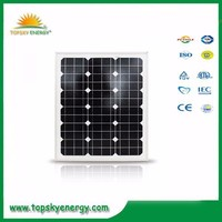 Small size solar panel home system use 50w cheap price modules from China