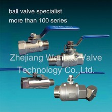 "CF8 CF8M male female 3 inch stainless steel ball valve / 1 inch 1/2"" 2 inch ball valves China Supplier"