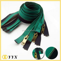 Plastic zipper/long chain resin zipper/large plastic zipper