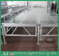 Aluminium Adjustable Height Acrylic Performance Portable Stage