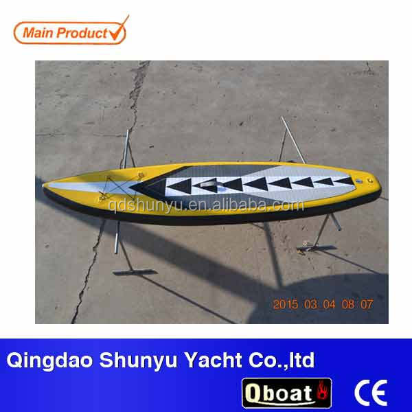 PVC inflatable foam stand up paddle board