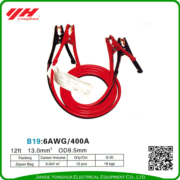 Low price 400amp booster cable auto booster cable