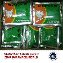 antibiotic poultry 10% Neomycin sulfate water soluble powder for chicken diarrhea