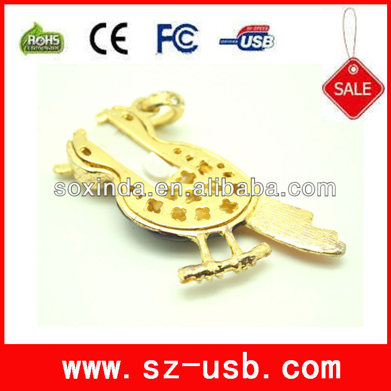 New design animal shape usb flash drive from factory supplier