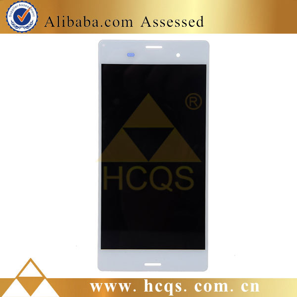 DHL door to door cheap lcd for Sony xperia z3, for Sony xperia z3 screen replacement